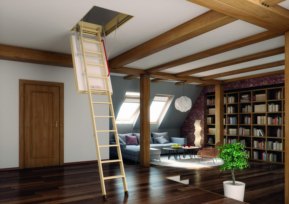 FAKRO attic ladders come in a variety of styles to best suit your needs