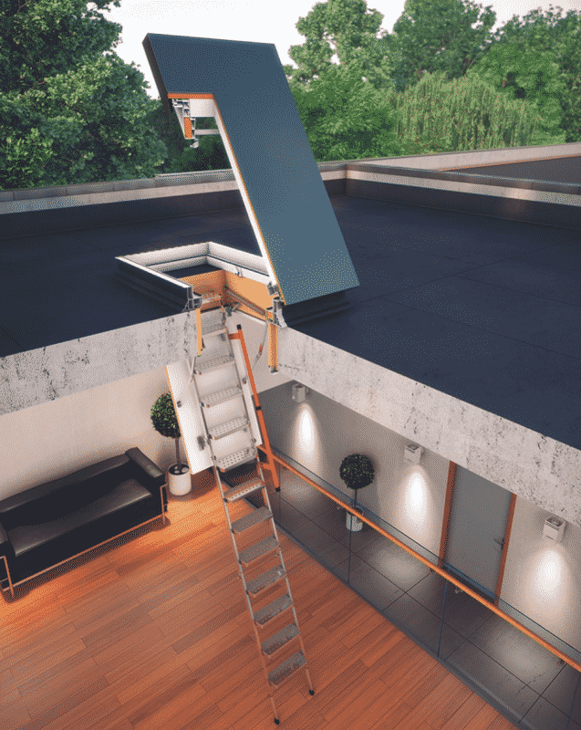 Why You Need a Pull Down Attic Ladder 2021