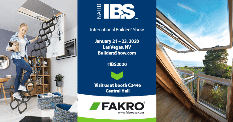 Visit FAKRO at IBS 2020 - Booth C2446
