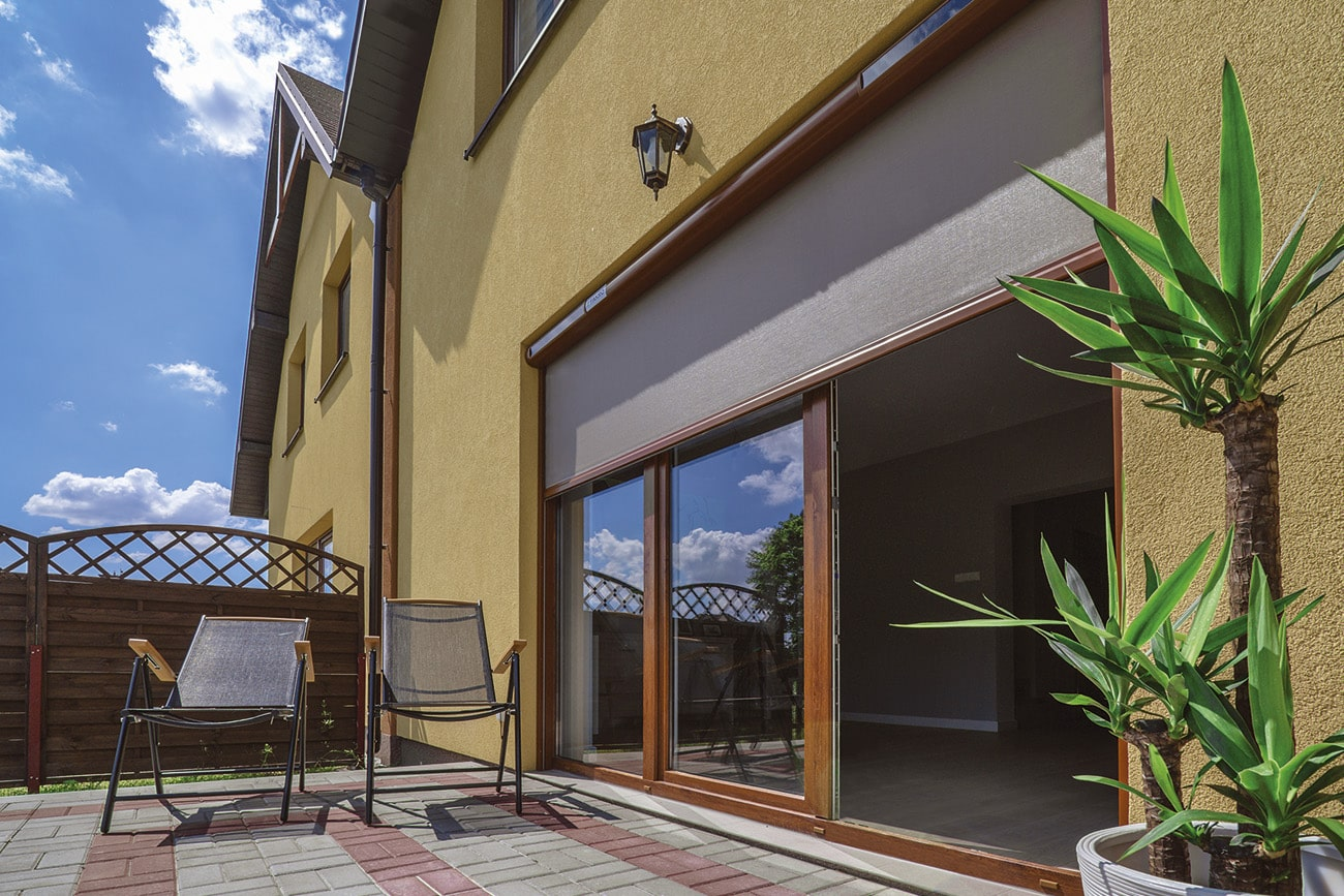 External blinds are a great addition to your home to help temperature control