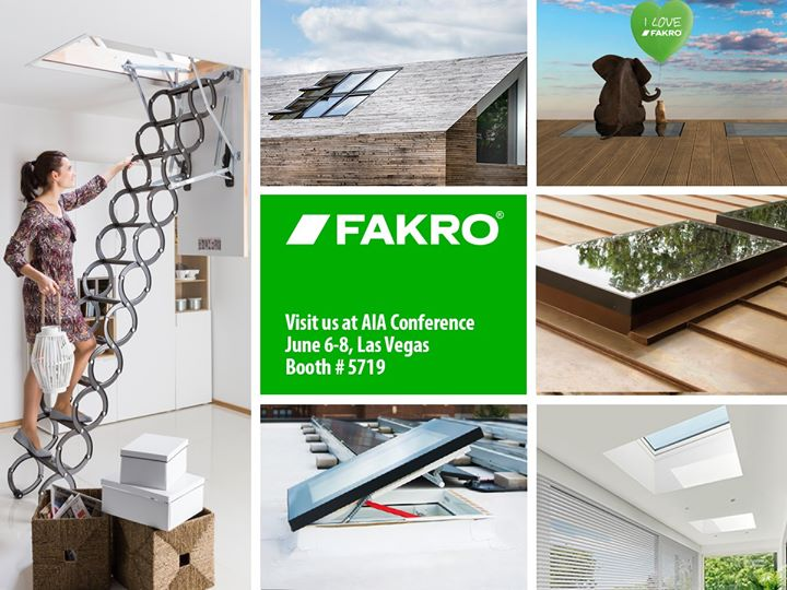 AIA Conference 2019: FAKRO Booth #5719