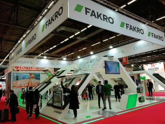 FAKRO products operated via Wi-Fi network at BATIMAT Trade Show in Paris