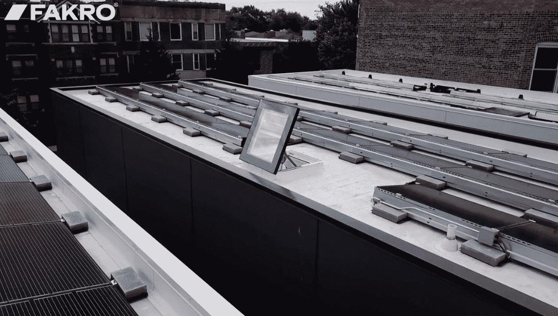 DRF Flat Access Roof Lights