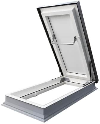 Flat Metal Roof Hatches