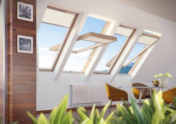 High Pivot Roof Windows